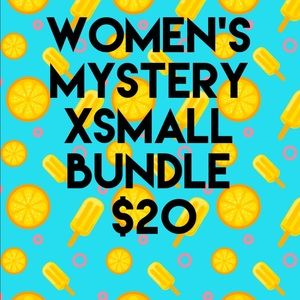 4 Piece Women's Mystery XS Bundle $20